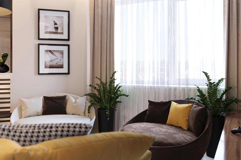 Как из студии сделать двухкомнатную квартиру