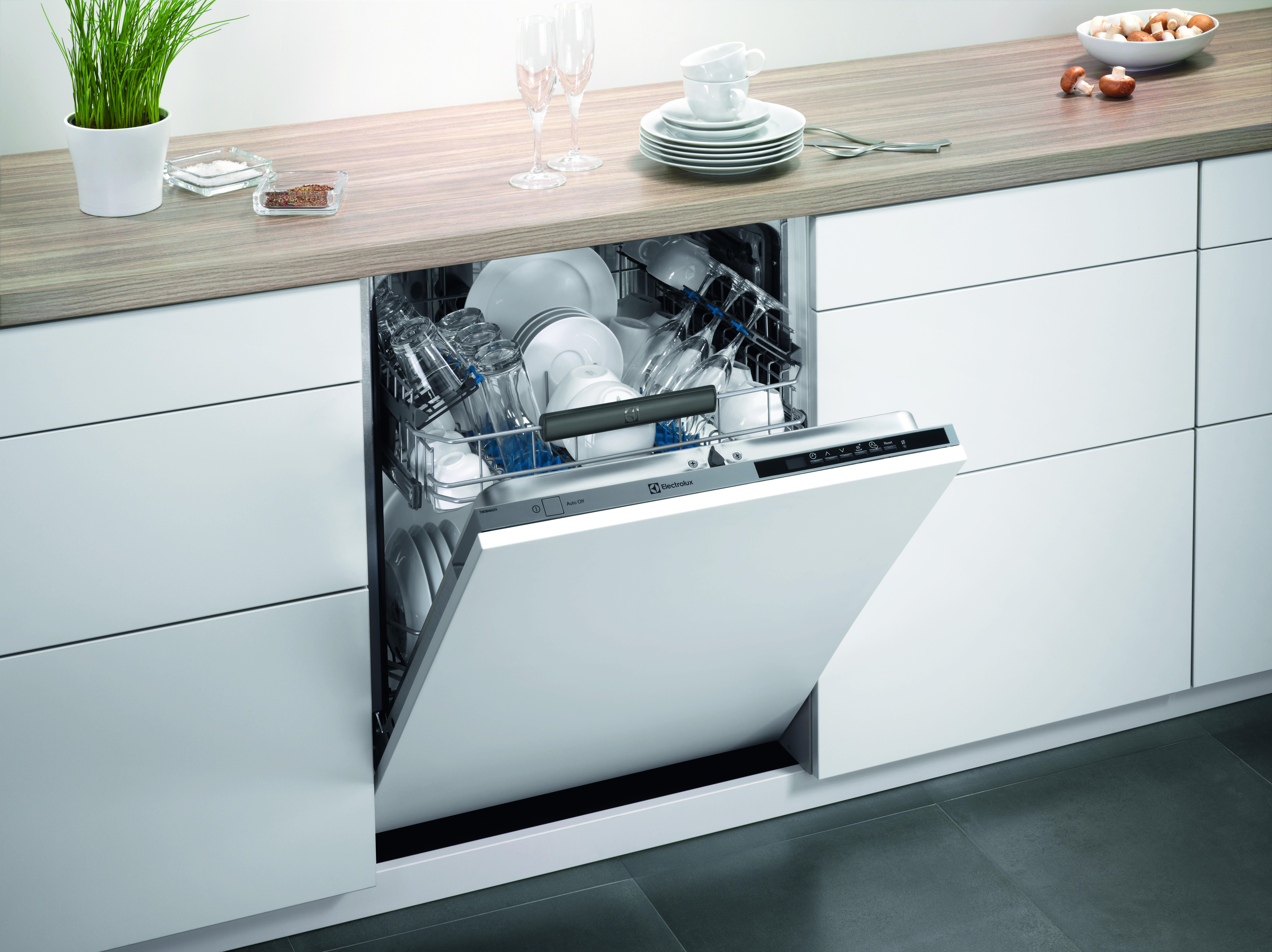 Electrolux выпустила новые посудомоечные машины
