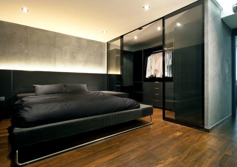 5 гардеробных мечты, которые можно устроить в вашей спальне