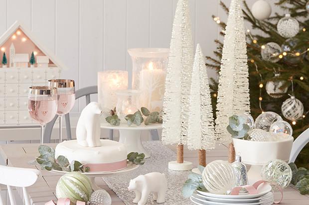 9 элементов новогоднего декора в романтическом стиле