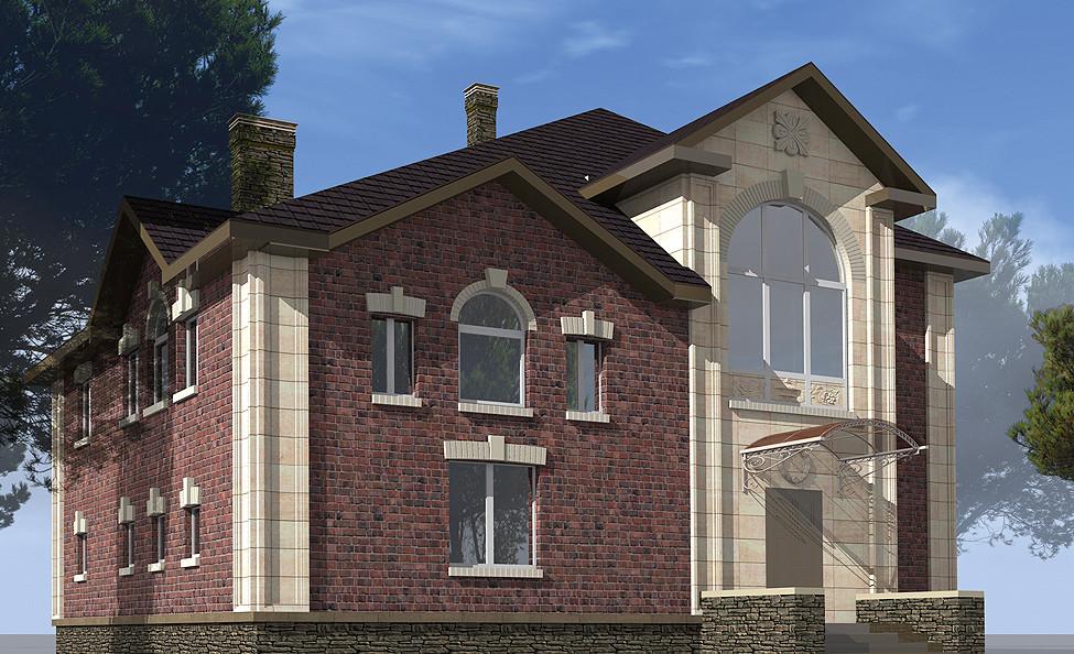 Дизайн-проект фасада: стоит ли заказывать 3D-модель облицовки дома?