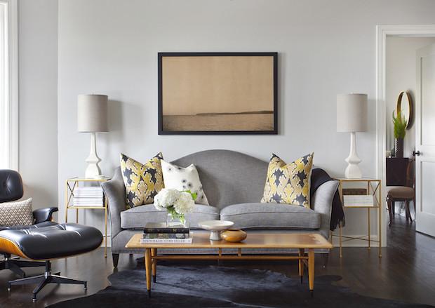 Диван для гостиной: 12 советов по выбору формы и стиля