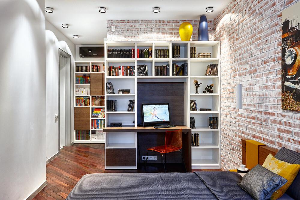 Квартира для мужчины: интерьер на стыке лофта, минимализма и функционализма