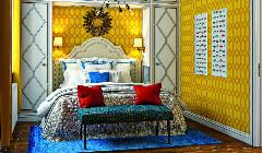 Функциональная спальня в стиле контемпорари