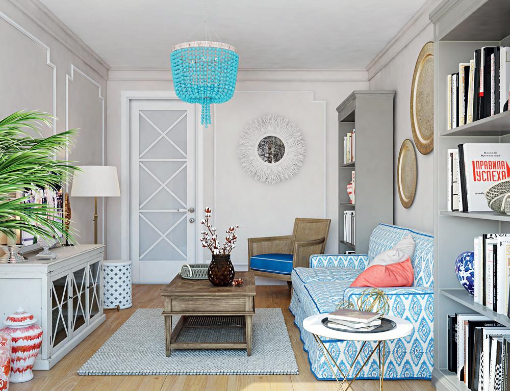Квартира в стиле кантри для молодой женщины