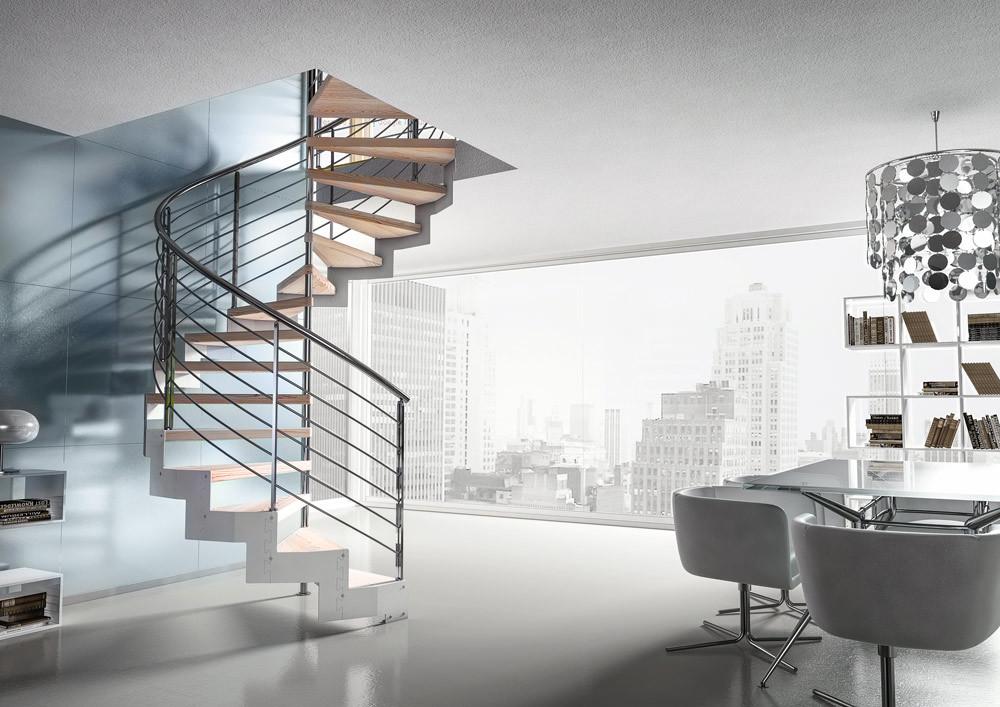 Компактные лестницы для небольших домов
