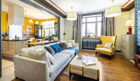 Квартира с сюрпризом: мотивы ретро и творческий подход