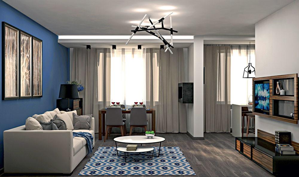 Два в одном: проект объединения квартир