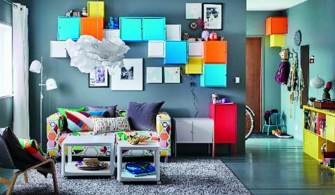 Многофункциональные предметы мебели и декора