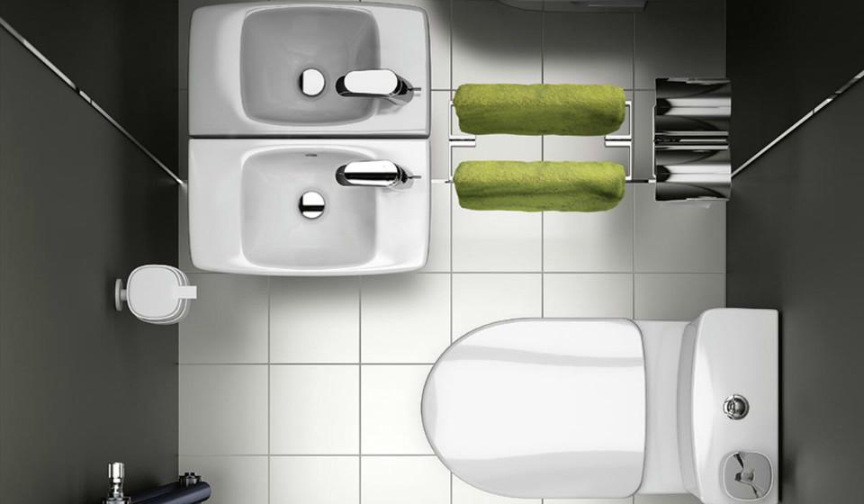 Маленькая ванная: выбираем мини-сантехнику