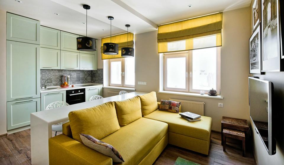 Экостиль ивосточная экзотика в интерьере маленькой квартиры