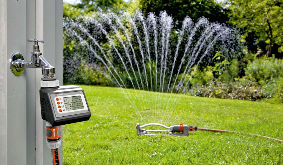 Gardena представила таймер подачи воды EasyControl