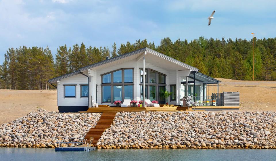 Дом на берегу залива: финские технологии строительства