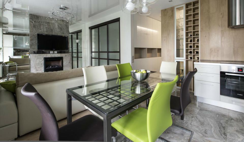 Интерьер маленькой квартиры: светлое пространство в природных цветах