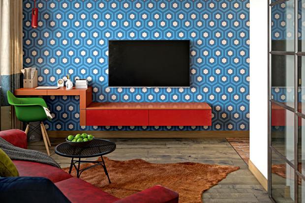 Современный дизайн маленькой квартиры: пространство для молодого мужчины
