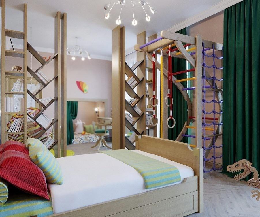 8 детских комнат, которые по‑настоящему вас удивят