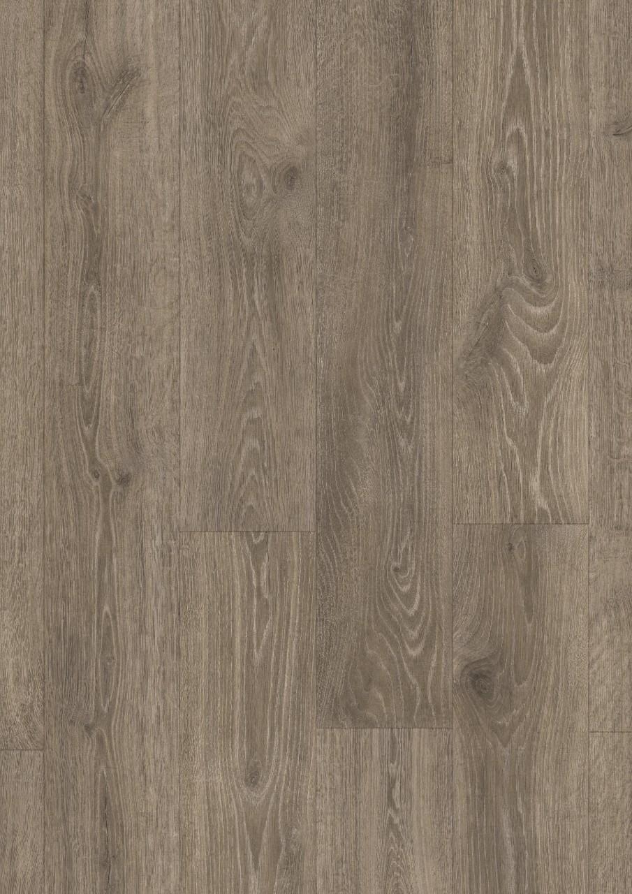 Quick-Step. Коллекция Majestic, дуб лесной массив коричневый, водостойкая технология Hydroseal, размер планки: 2050 × 240 мм, толщина: 9,5 мм