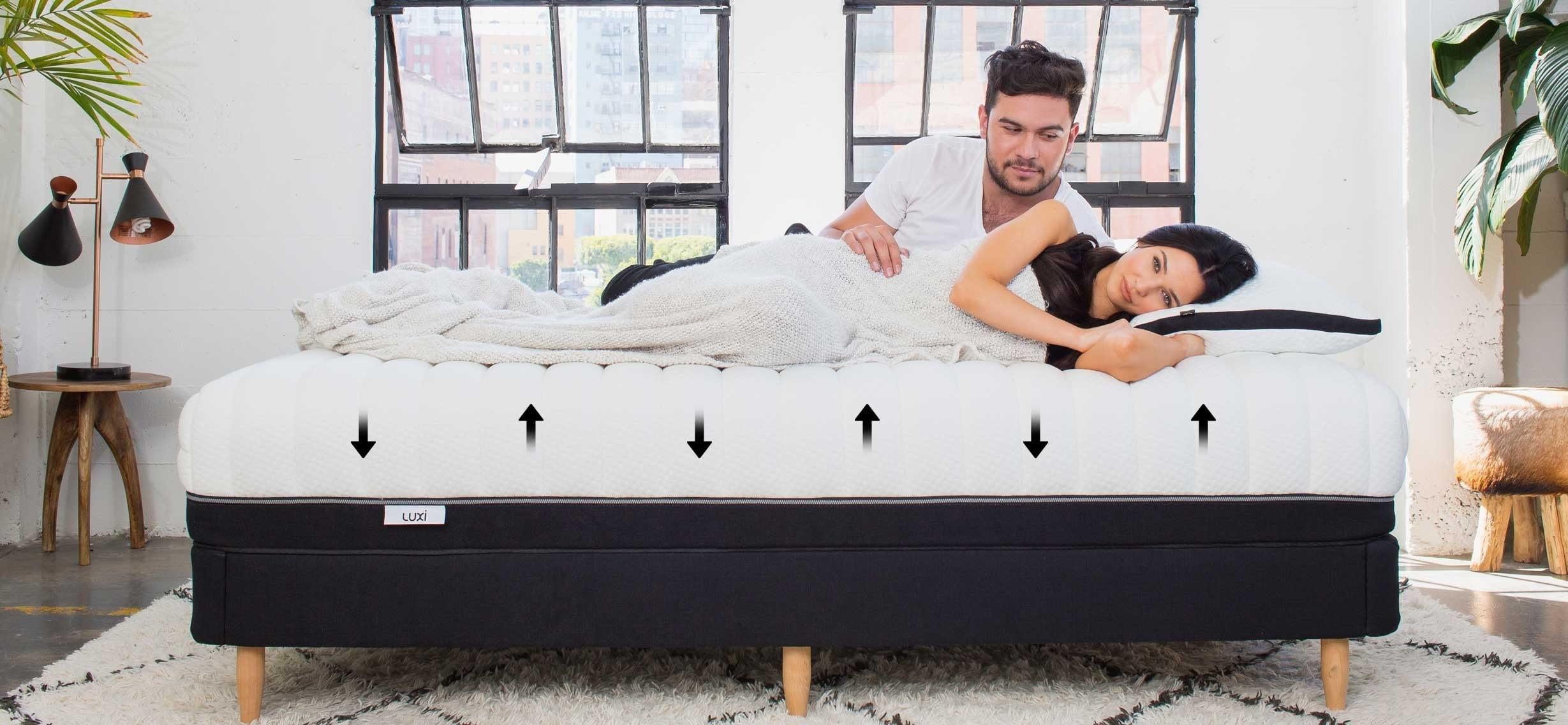 Комфортный двуспальный матрас - хранитель супружеского счастья