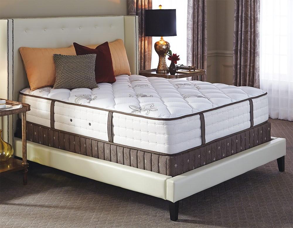 Двуспальный матрас с двойным пружинным блоком