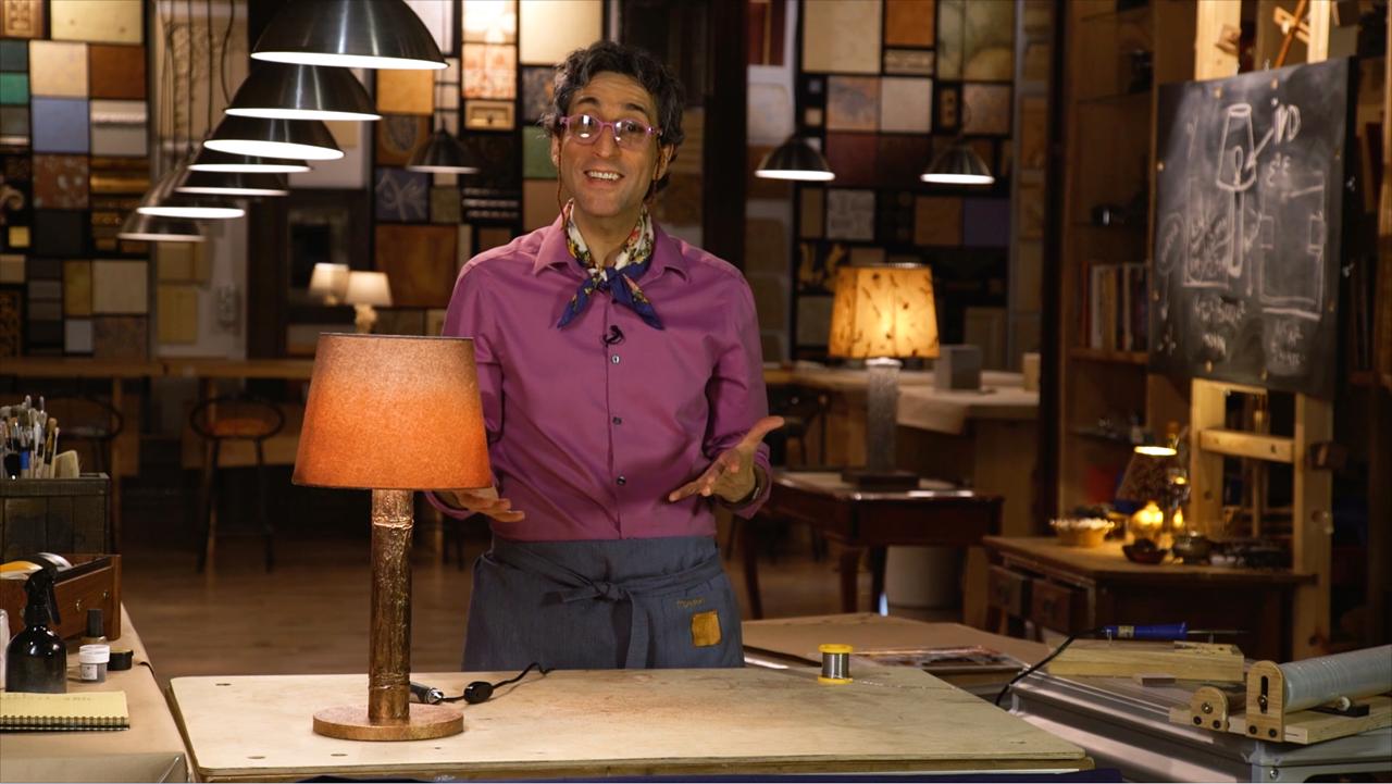 Как сделать настольную лампу своими руками: видеоинструкция от Марата Ка
