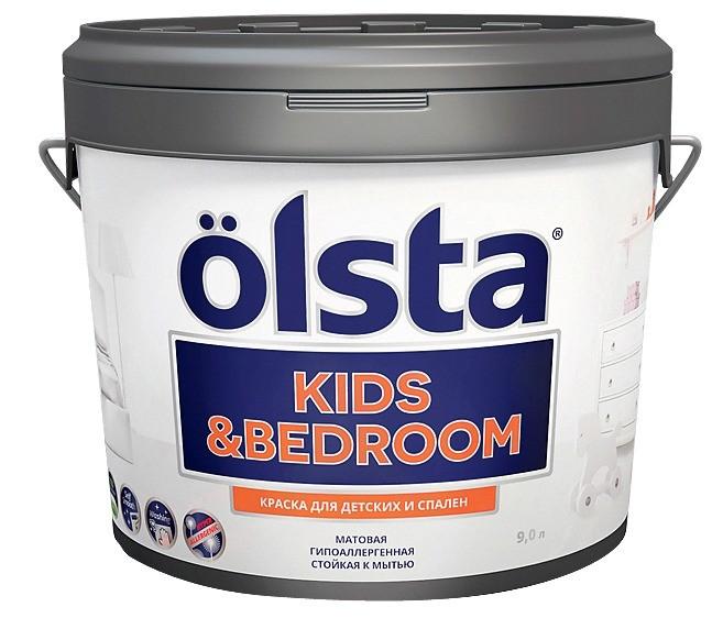 Помимо очевидных преимуществ у краски для детских комнат Ölsta Kids&Bedroom имеются и другие достоинства, например широкие возможности колеровки и разные варианты фасовки — банки объёмо...