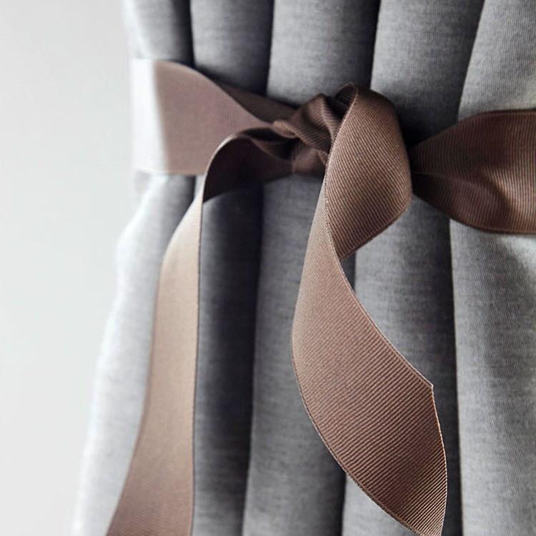 Подхваты для штор своими руками: 9 вариантов