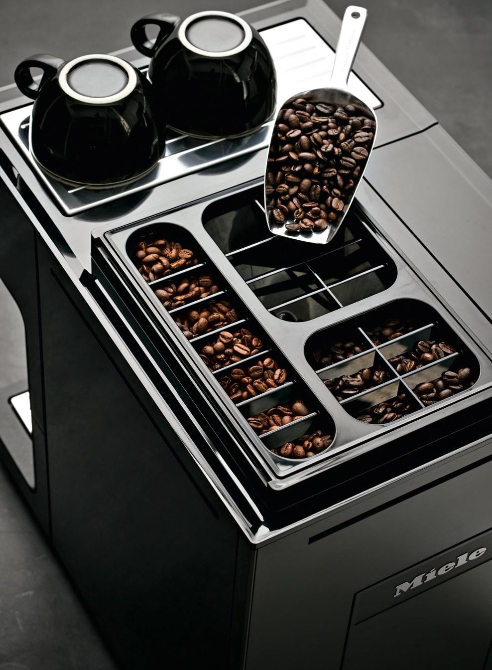 Кофемашины CM7 (Miele)— единственные отдельно стоящие модели с автоматическим удалением накипи