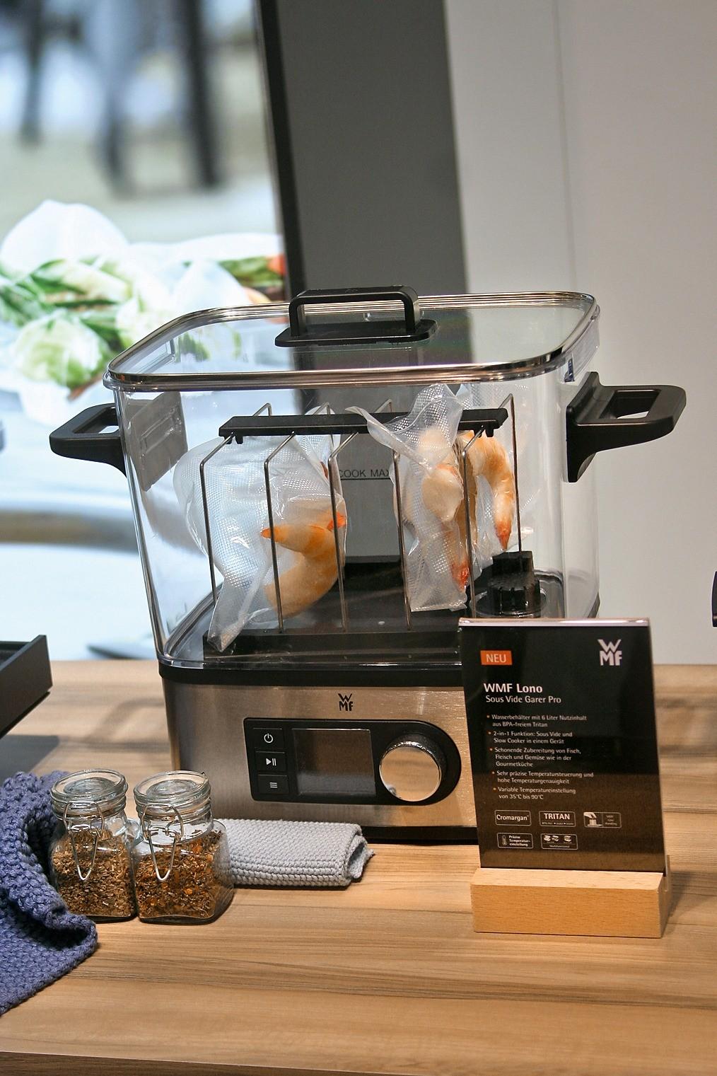 Компактное устройство для приготовления пищи по технологии Sous Vide (WMF)