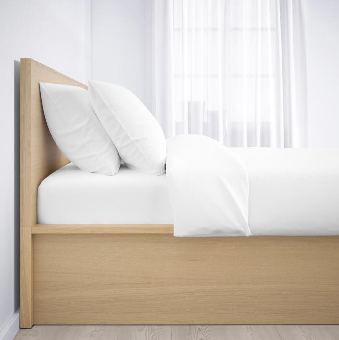 Пример деревянной кровати