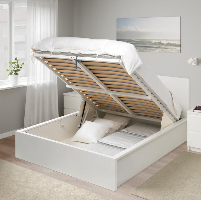 Кровать с подъемным механизмо&#...
