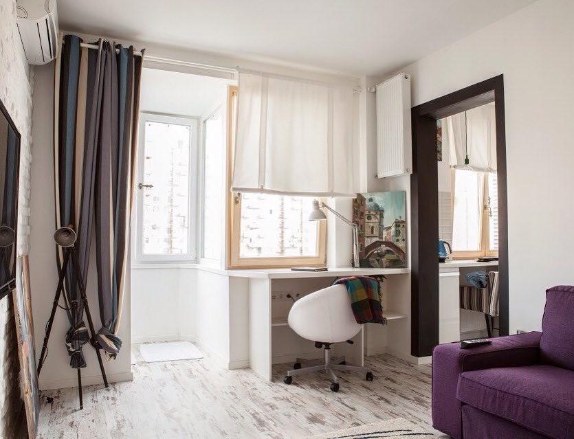 Подоконник- столешница в комнате: как создать функциональный уголок в квартире
