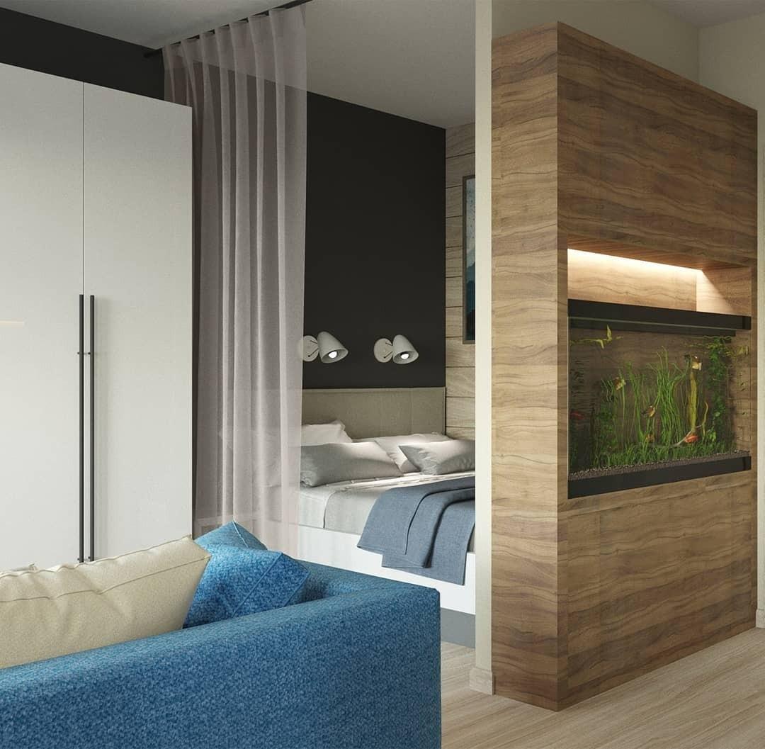 Кровать в нише: 8 стильных современных интерьеров
