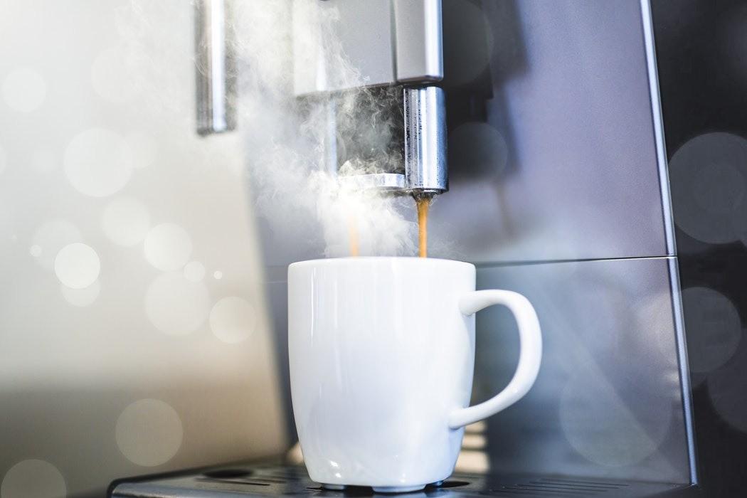 Почистите кофеварку с помощью уксуса