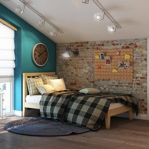 Комната для девочки в стиле Нью-Йорк