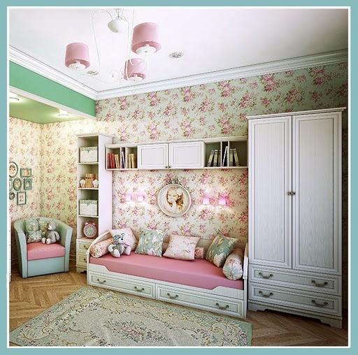Шебби-шик в интерьере детской комнаты
