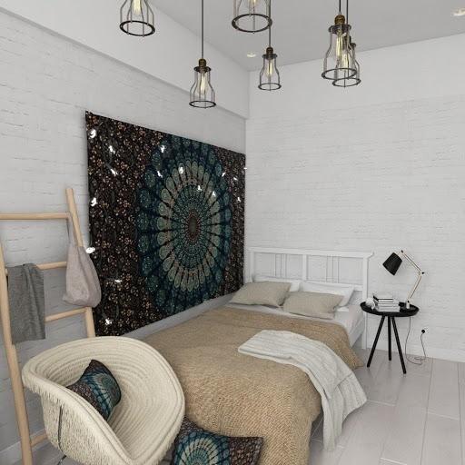 Скандинавский стиль в оформлении комнаты подростка