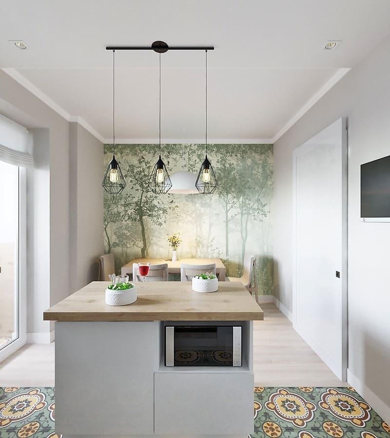 Кухонный остров можно ставить только в просторной кухне или кухне-гостиной