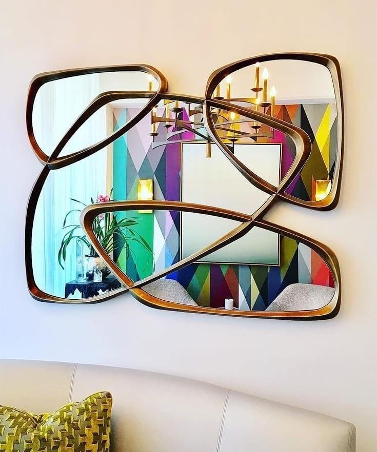 10 новаторских способов украсить интерьер зеркалами