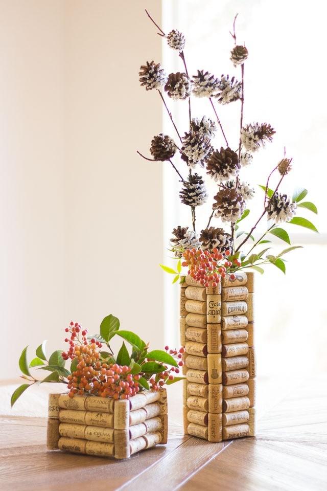 Классная идея для кастомизации обычной вазы