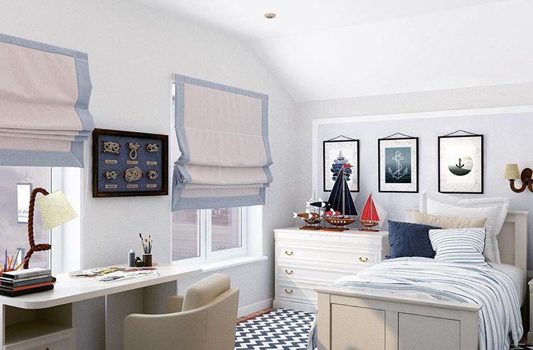 Короткие шторы в спальню до подоконника: современные идеи дизайна интерьера на фото