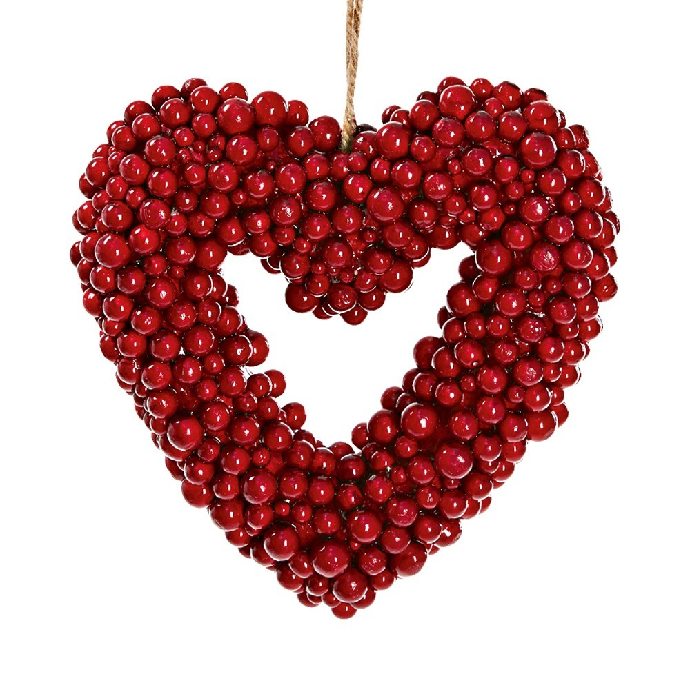 Подвесной новогодний декор Soul для украшения дома в виде сердца (1490 руб.)
