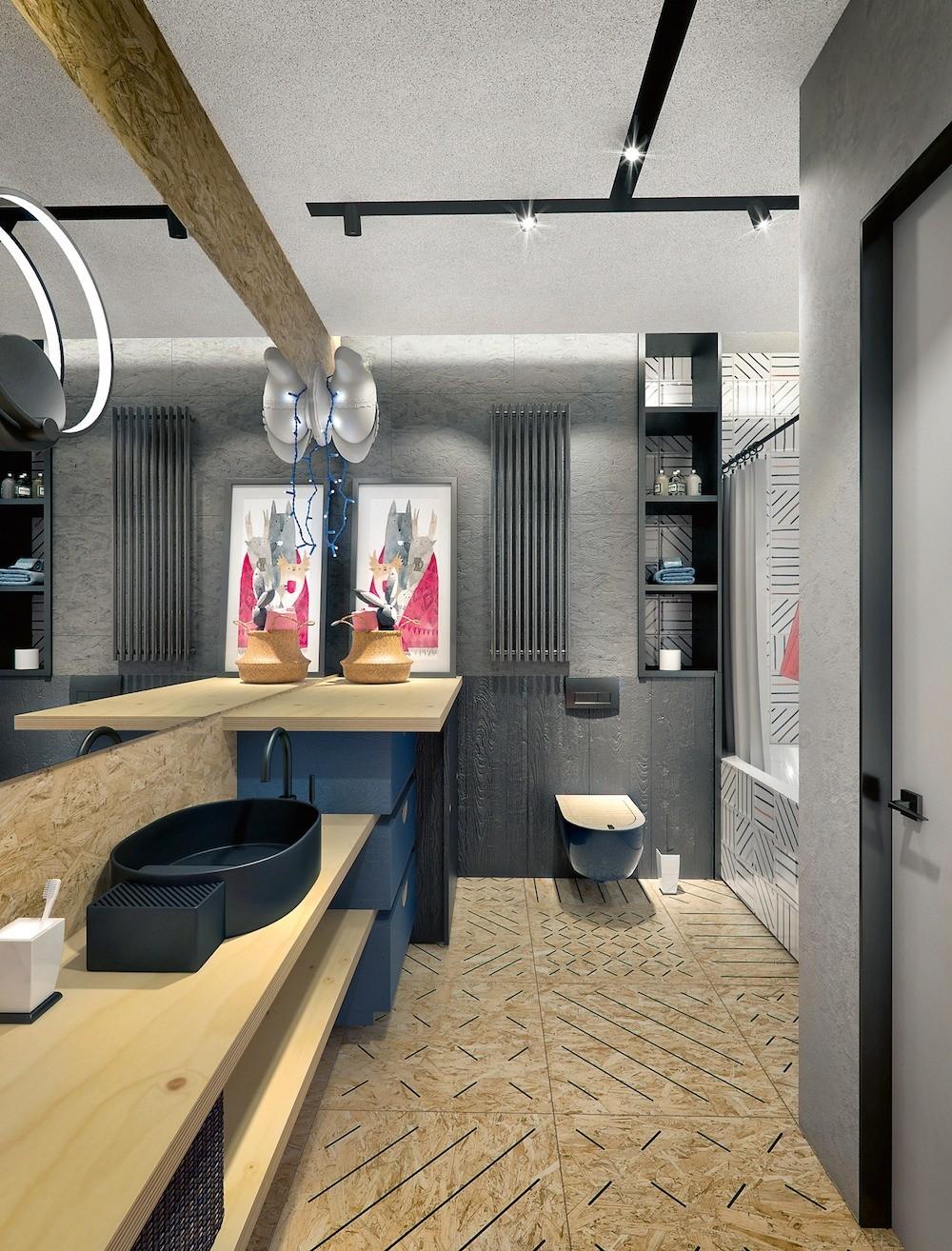Квартира, оформленная в духе художественной галереи