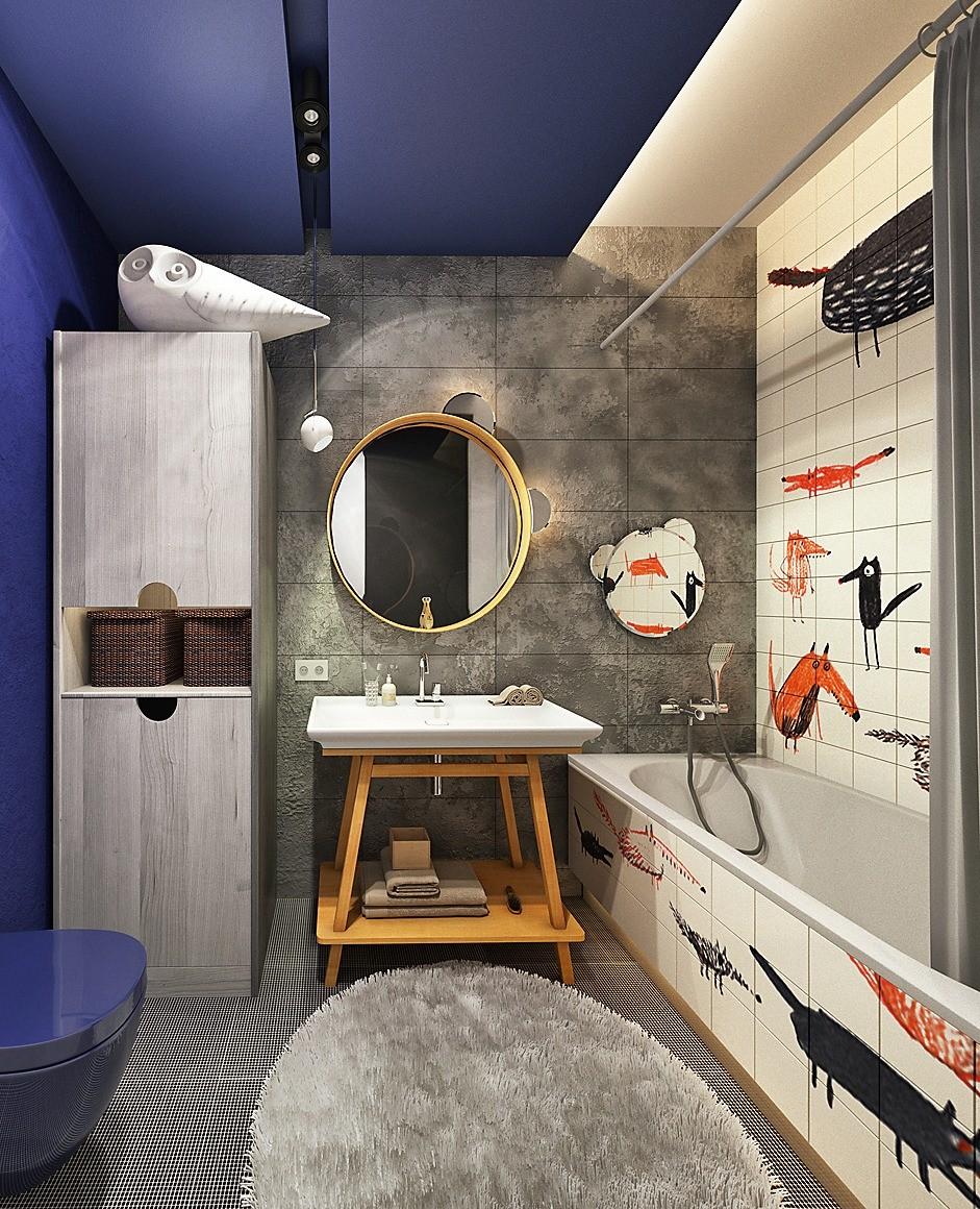 12 дизайн-проектов ванных комнат, которые не оставят вас равнодушными