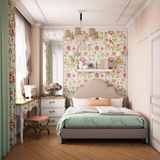 Спальня в стиле прованс: идеи дизайна интерьера на фото