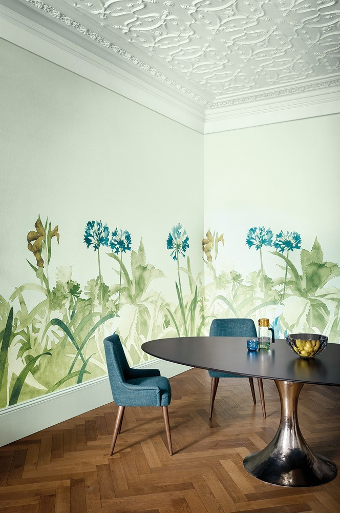 Обои Abbey Gardens , Paint and Paper Library