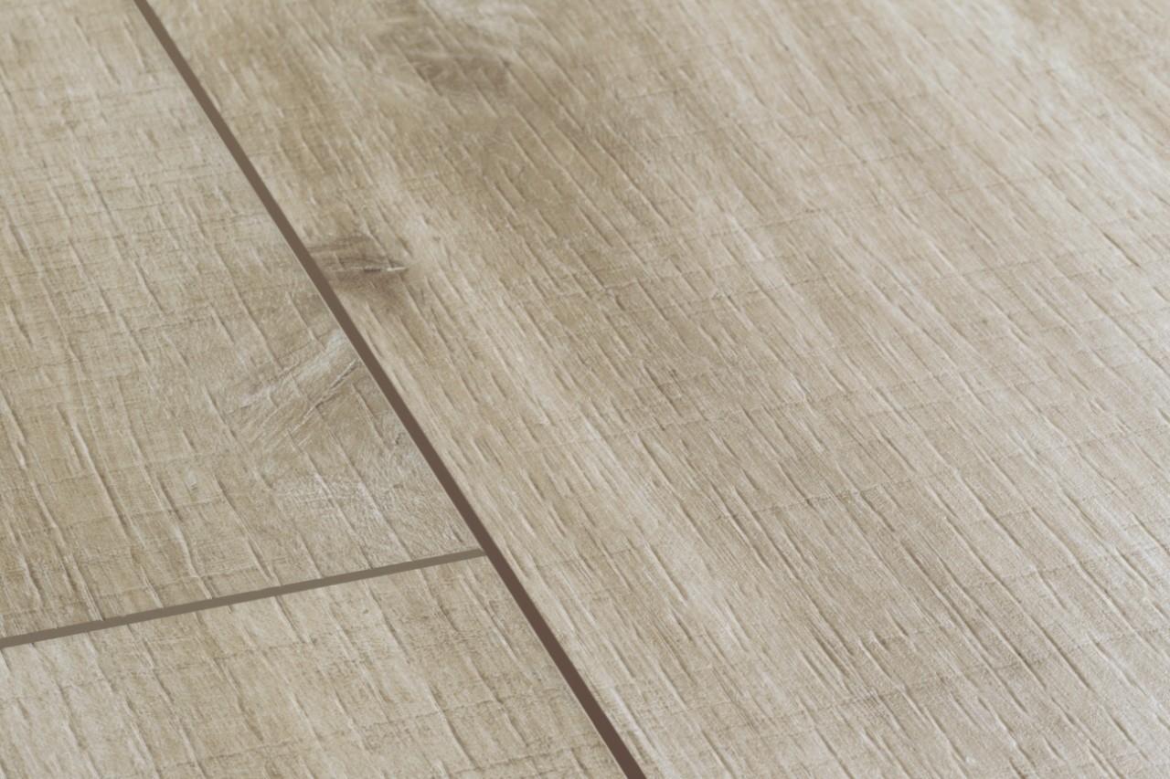 (BACL40031) Quick-Step. ПВХ-плитка коллекции Balance Click, дуб каньон светло-коричневый пилёный, метод монтажа: замок, размер планки: 1251 × 187 мм, толщина: 4,5 мм, гарантия: 20 лет