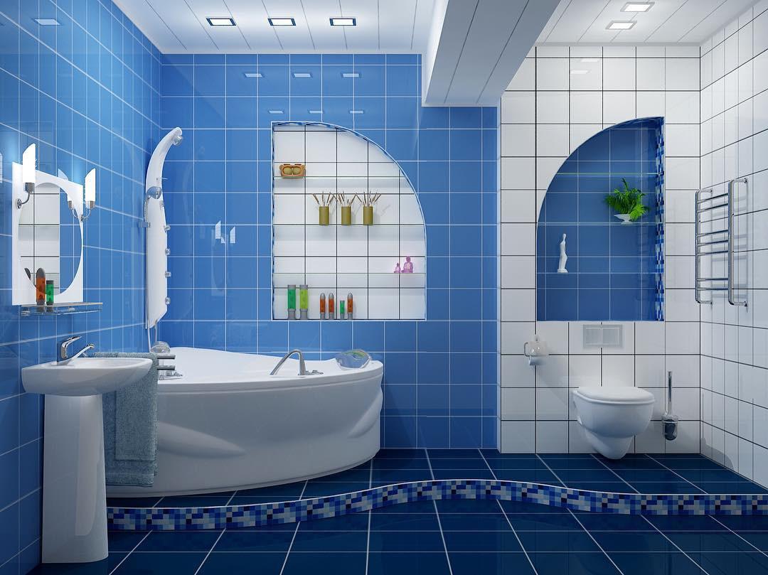 Дизайн ванной, совмещенной с туалетом: советы по оформлению и 70+ удачных вариантов