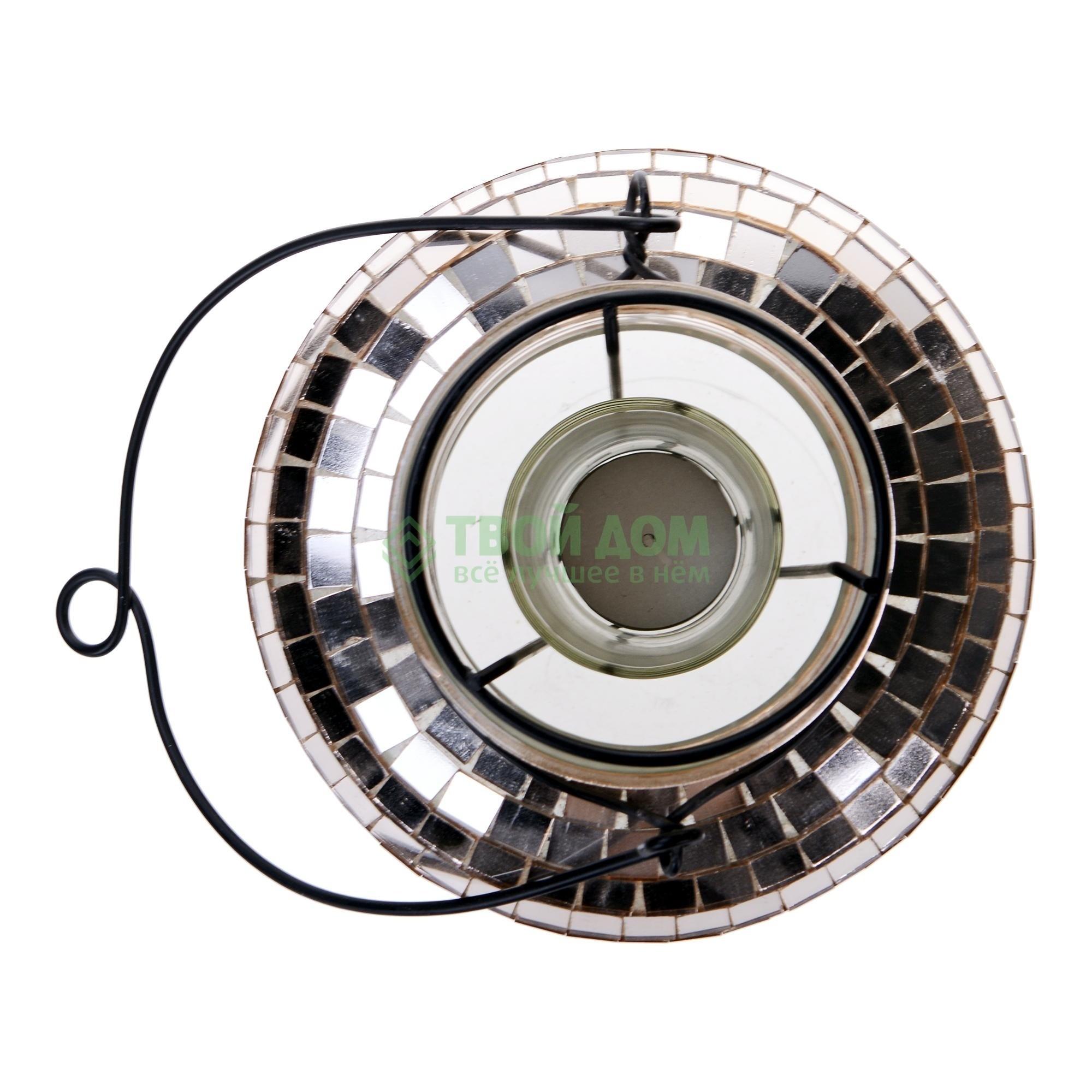 Подсвечник disco 15х15х32 см