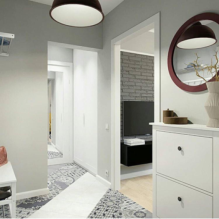 Свободные проходы между комнатами зрительно облегчают интерьер. Но очень важно, чтобы помещения были оформлены в едином стиле.
