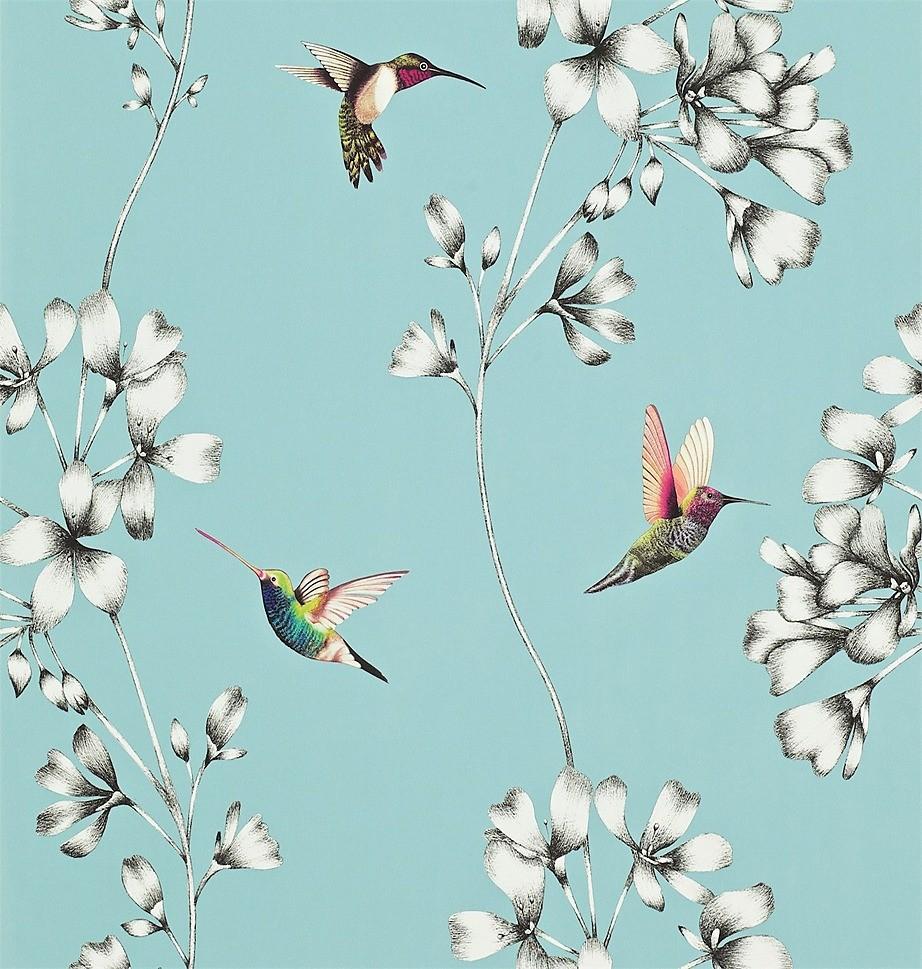 Обои с изображением птиц привнесут в комнату дыхание летнего сада и органично впишутся в интерьеры, оформленные в стиле прованс и кантри